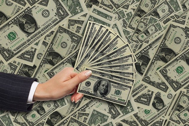 Money Dollar Cash Bills Finance  - susan-lu4esm / Pixabay