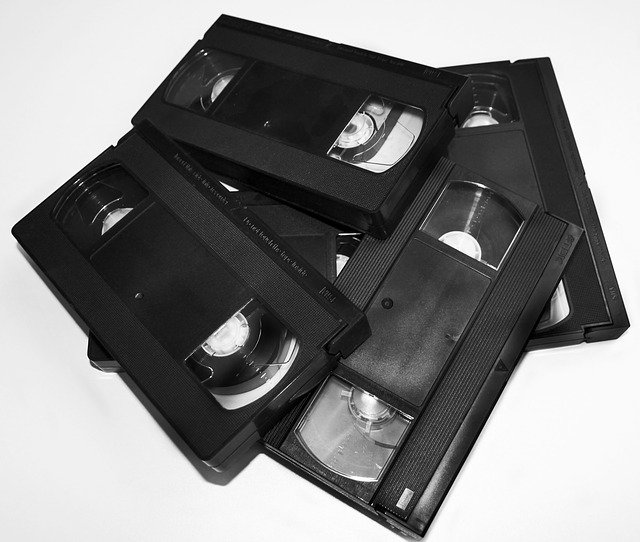 Video Video Cassette Cassette  - DS-Foto / Pixabay