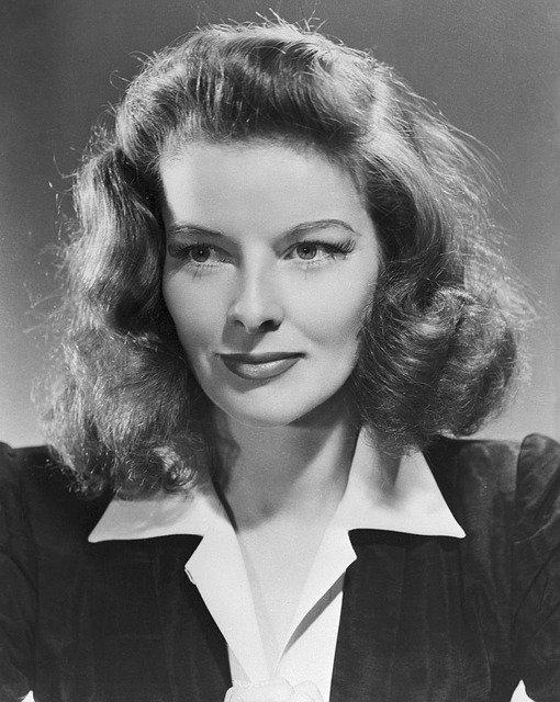 Katharine Hepburn Actress Classic  - skeeze / Pixabay